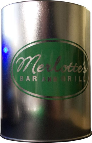 True Blood - Merlotte's Bar Metal Can Cooler - Ozzie Collectables