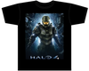 Halo 4 - Master Chief Black Male T-Shirt XL - Ozzie Collectables