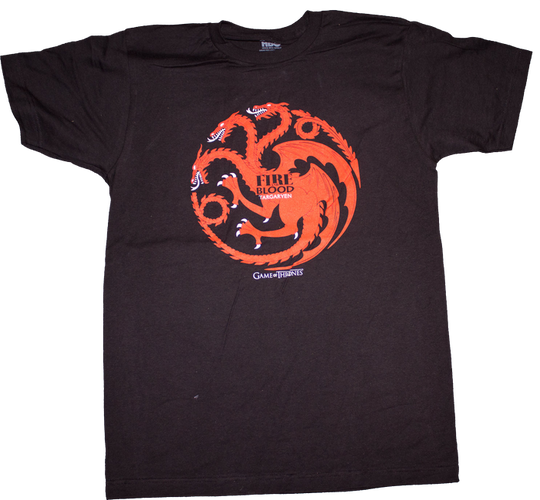 Game of Thrones - Targaryen Male T-Shirt S - Ozzie Collectables