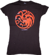 Game of Thrones - Targaryen Female T-Shirt S - Ozzie Collectables