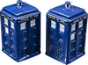 Doctor Who - TARDIS Salt & Pepper Shaker Set - Ozzie Collectables