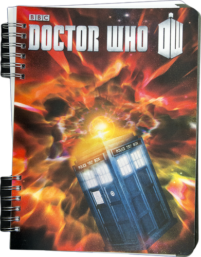 Doctor Who - TARDIS Lenticular Journal - Ozzie Collectables
