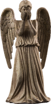 Doctor Who - Weeping Angel Christmas Tree Topper Ornament - Ozzie Collectables