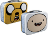 Adventure Time - Jake & Finn Face Lunchbox - Ozzie Collectables