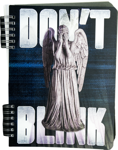 Doctor Who - Don't Blink Lenticular Journal - Ozzie Collectables
