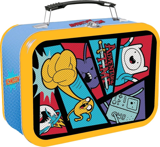 Adventure Time - Comic Book Halftone Lunchbox - Ozzie Collectables