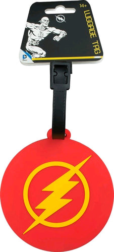 The Flash - Logo Luggage Tag - Ozzie Collectables