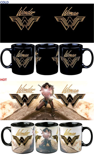 Wonder Woman Movie - On Mountain Top Heat Change Coffee Mug - Ozzie Collectables