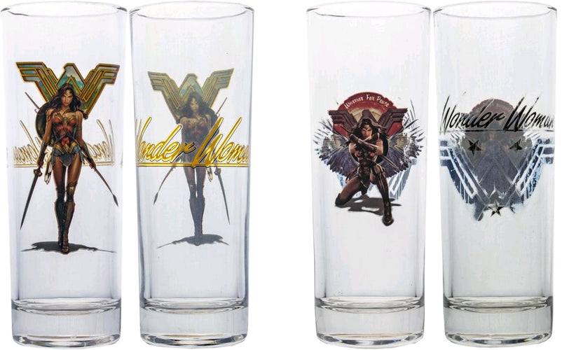 Wonder Woman Movie - Warrior for Peace Tumbler Set of 2 - Ozzie Collectables