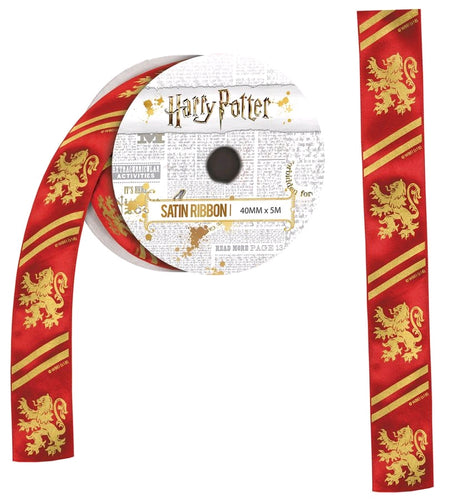 Harry Potter - Gryffindor Satin Ribbon (5 metres) - Ozzie Collectables