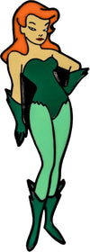 Batman: The Animated Series - Poison Ivy Enamel Pin - Ozzie Collectables