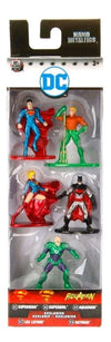 DC Comics - Nano Metalfigs 5-Pack - Ozzie Collectables