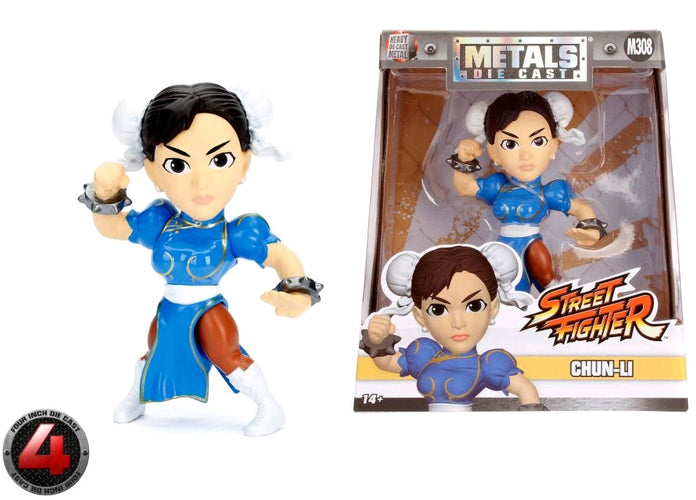 "Street Fighter - Chung Li 4"" Metals - Ozzie Collectables"