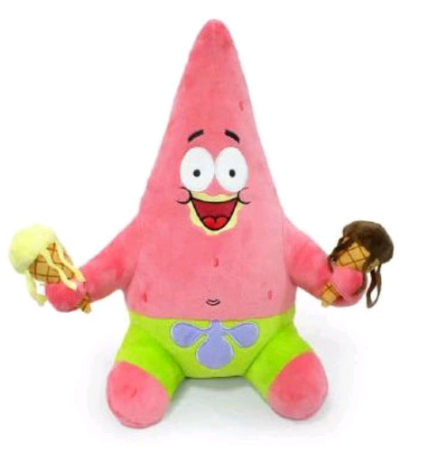 "SpongeBob SquarePants - Patrick with Ice Cream 16"" HugMe Plush"