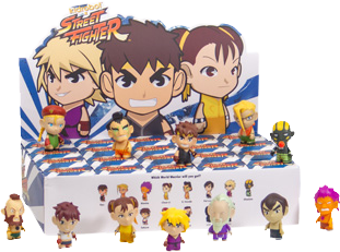 "Street Fighter - Mini Series 2 3"" Blind Box - Ozzie Collectables"