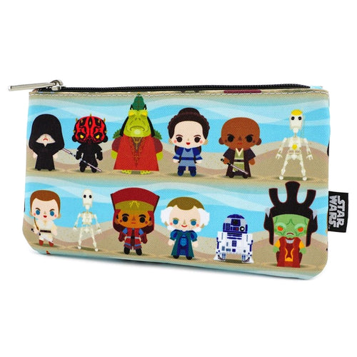Star Wars - Phantom Menace Chibi Pouch - Ozzie Collectables