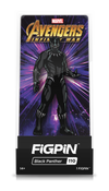 "Avengers Infinity War - Black Panther 3"" Collectors FigPin #110"