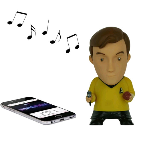 Star Trek: The Original Series - Captain Kirk Bluetooth Speaker - Ozzie Collectables