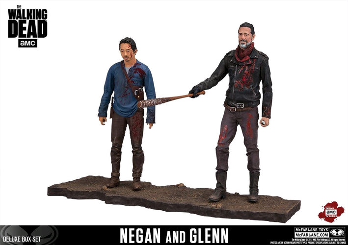 "The Walking Dead - Negan & Glenn 5"" Deluxe Box Set - Ozzie Collectables"