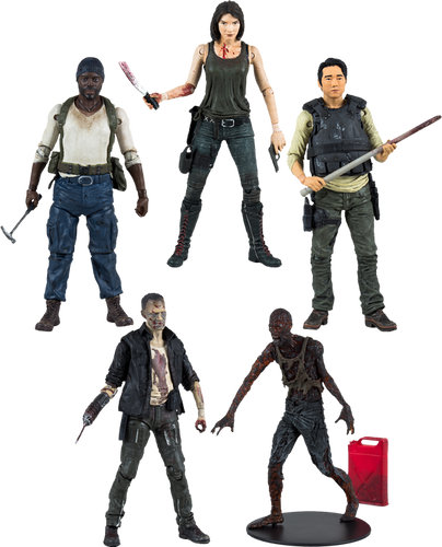 "The Walking Dead - 7"" TV Series 5 Action Figure Assortment - Ozzie Collectables"