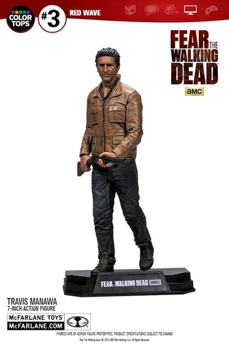 "Fear the Walking Dead - Travis Manawa 7"" Statue - Ozzie Collectables"