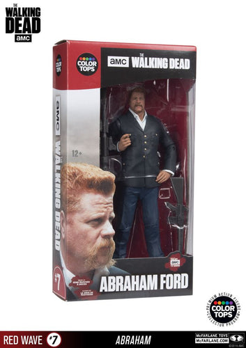 "The Walking Dead - 7"" Abraham Action Figure - Ozzie Collectables"
