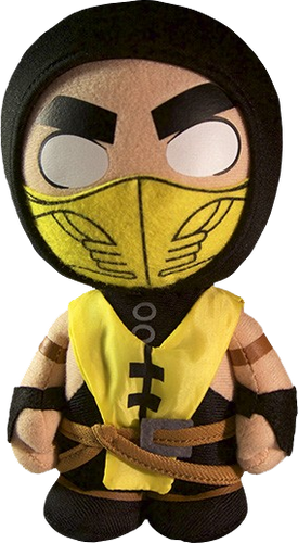 "Mortal Kombat - Scorpion 8"" Plush - Ozzie Collectables"