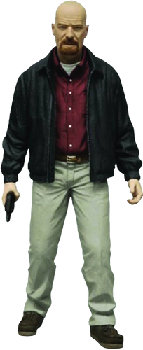 "Breaking Bad - Heisenberg 6"" Figure Red Shirt Exclusive Action Figure - Ozzie Collectables"