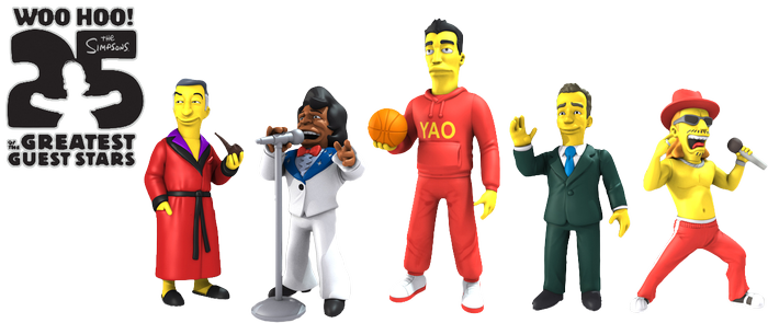 "The Simpsons - 25th Anniversary 5"" Series 1 Figure Assortment - Ozzie Collectables"