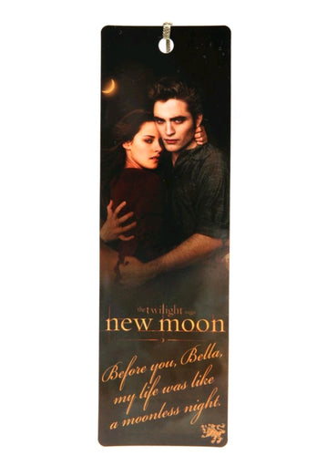 The Twilight Saga: New Moon - Bookmark Moonless Quote Edward & Bella