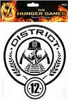The Hunger Games - Laptop Decals District 12 - Ozzie Collectables