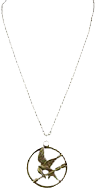 The Hunger Games - Necklace Single Chain Mockingjay - Ozzie Collectables