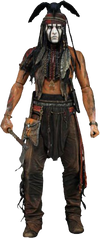 The Lone Ranger - Tonto 1:4 Scale Action Figure - Ozzie Collectables