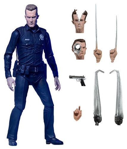 "Terminator 2: Judgement Day - 7"" Ultimate T-1000 Figure"