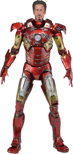 Avengers - Iron Man Battle Damaged 1:4 Scale Action Figure - Ozzie Collectables