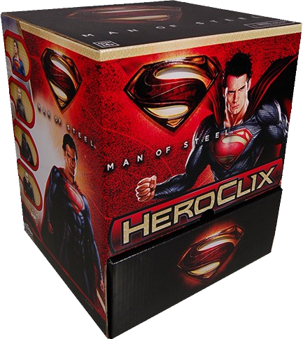 Heroclix - Superman Man of Steel (Gravity Feed of 24) - Ozzie Collectables