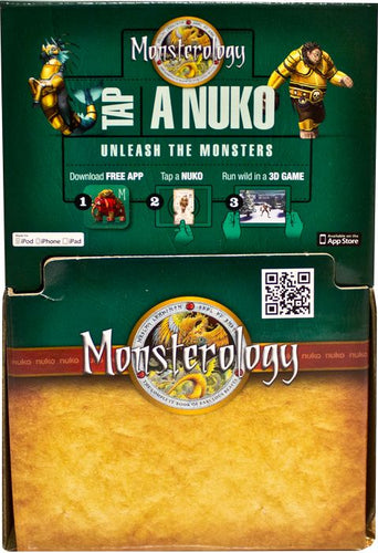 Nuko - Monsterology 3 Card Booster (Gravity Feed of 48) - Ozzie Collectables