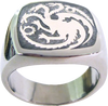 Game of Thrones - Targaryen Ring Size 7 - Ozzie Collectables