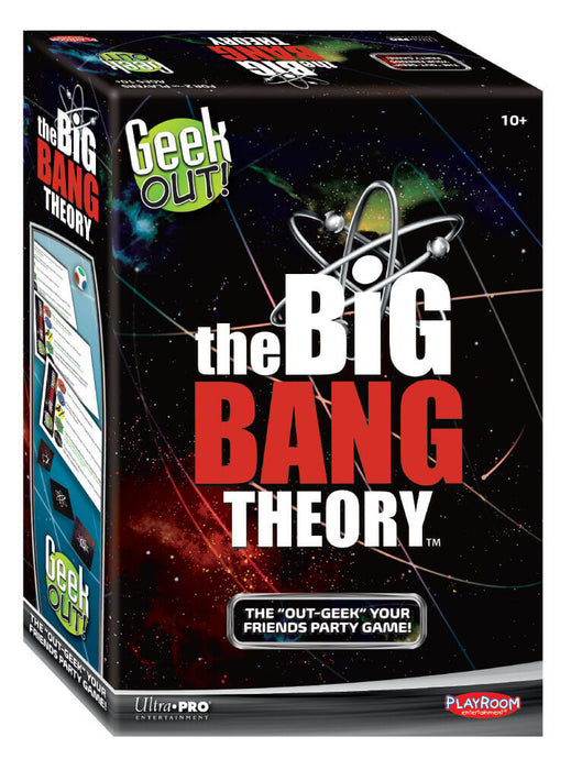 GAMING - Geek Out! The Big Band Theory Edition on Ozzie Collectables
