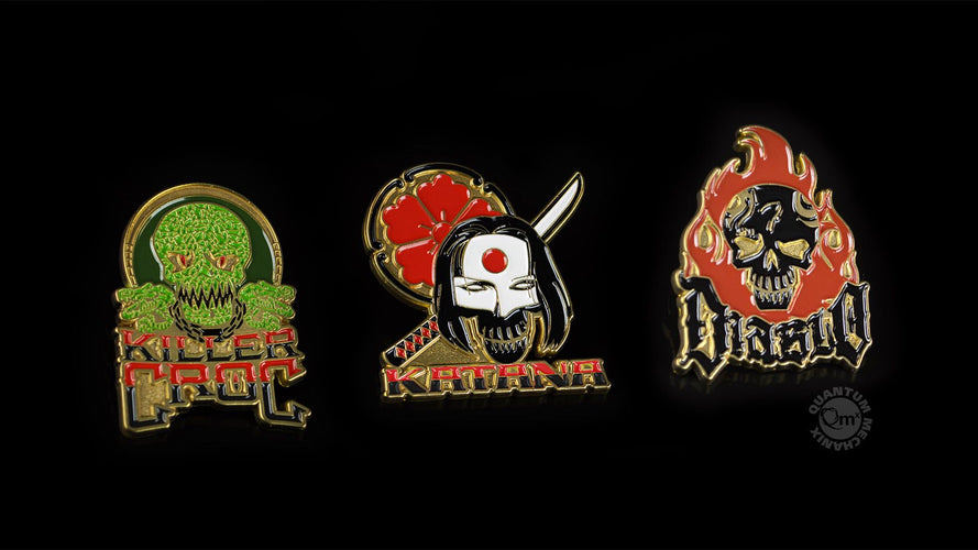 Suicide Squad - Lapel Pin Set #2 - Ozzie Collectables