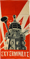 Doctor Who - Dalek Exterminate Beach Towel - Ozzie Collectables