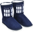 Doctor Who - TARDIS Boot Slipper Ladies Size 7 - Ozzie Collectables
