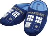 Doctor Who - TARDIS Printed Slippers Ladies 10 - Ozzie Collectables