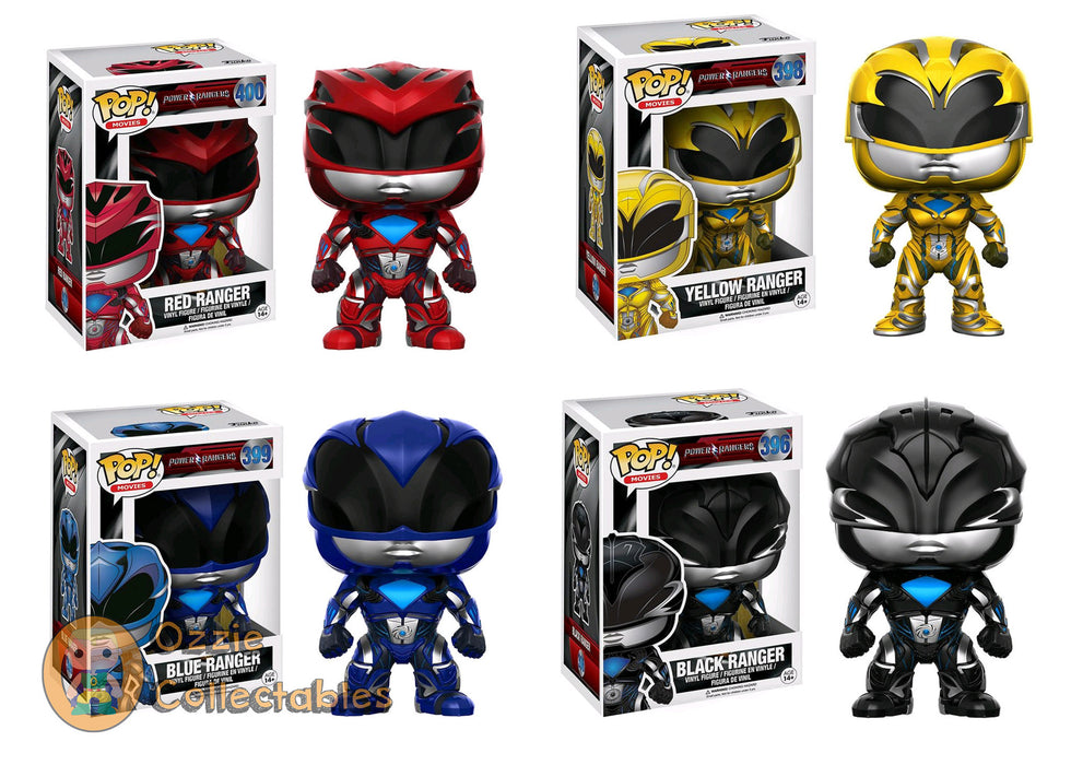 Power Rangers Movie Bundle - 4 POP! Vinyls - Ozzie Collectables