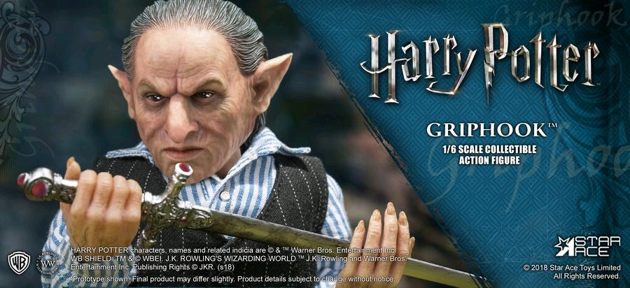 Harry Potter - Griphook 1:6 Scale Action Figure - Ozzie Collectables