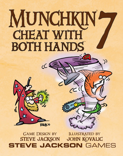 Munchkin - Munchkin 7 Cheat With Both Hands Expansion - Ozzie Collectables