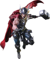 Thor - Variant Play Arts Action Figure - Ozzie Collectables
