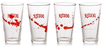 Dexter - Pint Glasses (Set of 4) - Ozzie Collectables