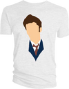 Doctor Who - David Tennant Vector Head T-Shirt XXL - Ozzie Collectables