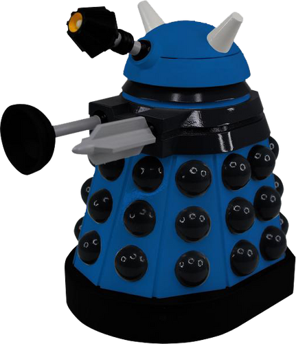 "Doctor Who - Strategist Dalek Titans 6.5"" Vinyl Figure - Ozzie Collectables"